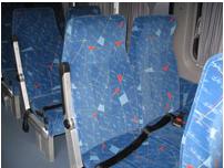 Заказать Перетяжка салона автобуса, авто, микроавтобуса замкожей или ткань в Бердичеве