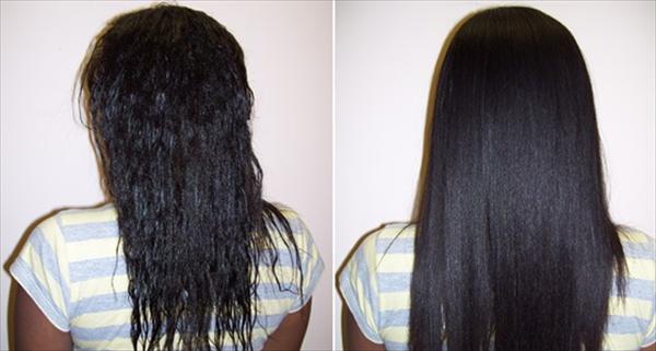 Заказать кератиновое выпрямление волос