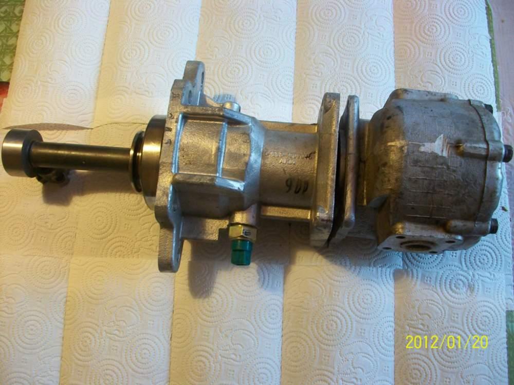Установка отбора мощности в торце КПП ЯМЗ-239
