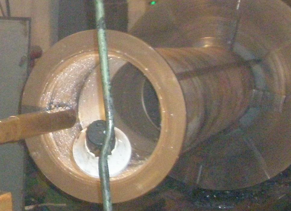 Ремонт подшипников скольжения из баббитовых металлов