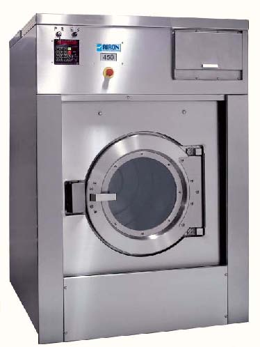 Установка машин промышленных стиральных