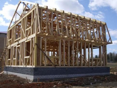 Order Construction of frame houses
