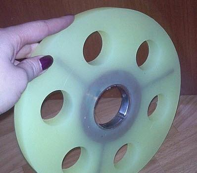 Гуммирование мелющих дисков для бисерных мельниц, Украина