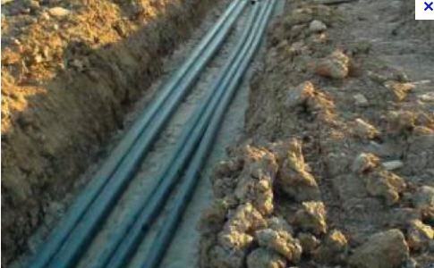 Прокладка кабелей в каналах, Прокладка кабелей, строительные работы