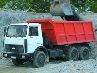 Услуги самосвала МАЗ-5516