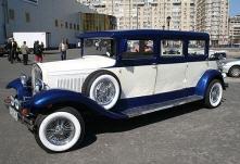 Заказать Прокат, аренда автомобилей - ретро лимузин-кабриолет Al Capone