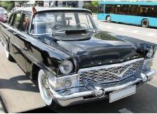 Заказать Прокат, аренда автомобилей «Чайка» ГАЗ13 1961 год выпуска