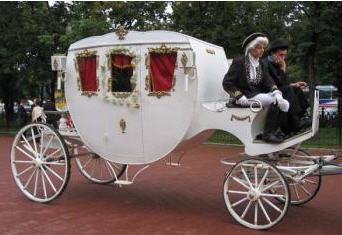Заказать Прокат свадебных карет