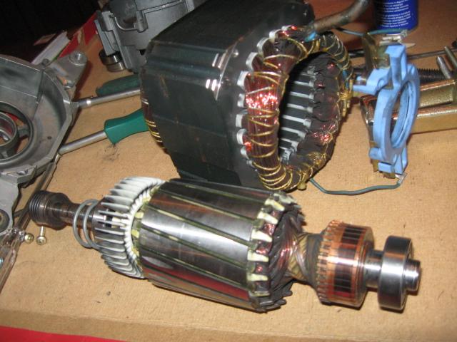 Ремонт двигателя стиральных машин своими руками