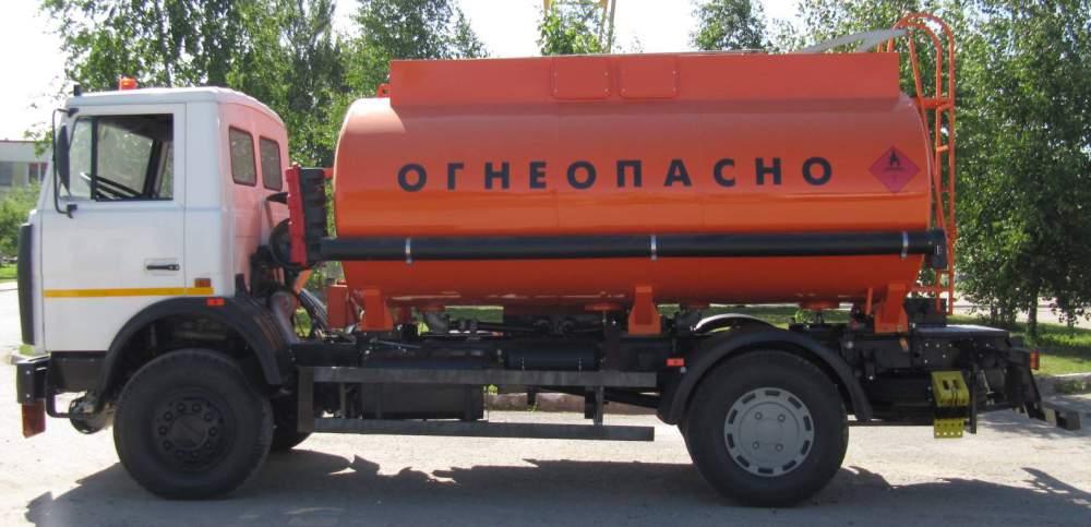 Заказать Грузоперевозки автоцистернами по Украине
