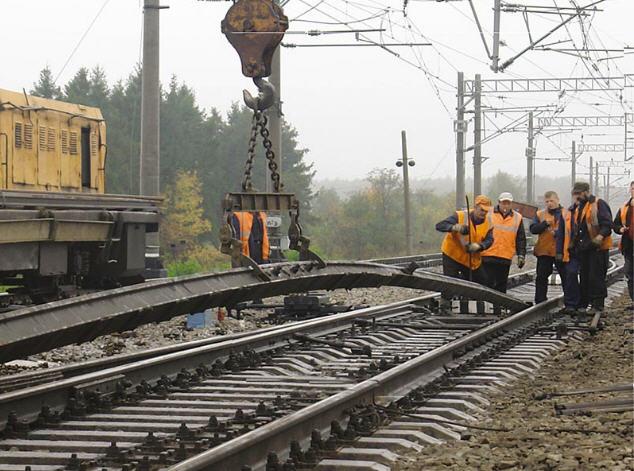 Заказать Капитальный ремонт железнодорожного полотна и стрелочных переводов