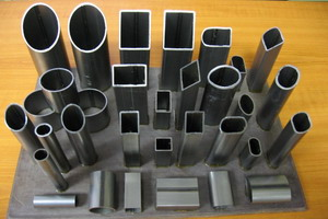 Production of pipes from the customer's metal