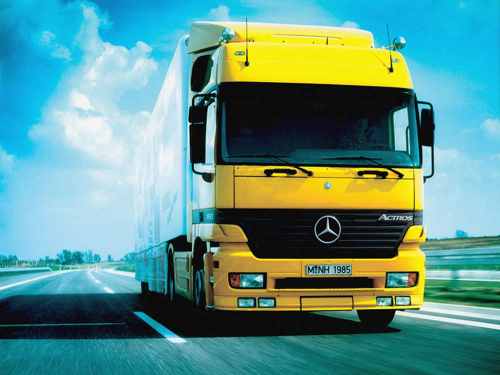 Order Cargo transportation to the mezhdunarodena