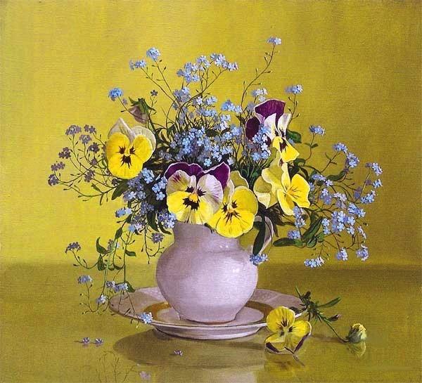Красивые натюрморты с цветами фото