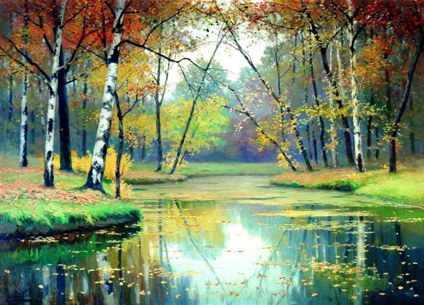 Осень картины осени пейзаж пейзажи