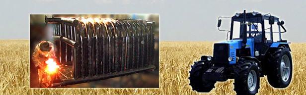 Заказать Ремонт зерноуборочных агрегатов