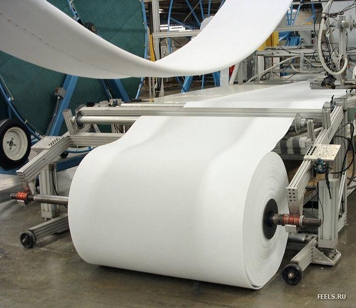 Заказать Производство бумаги