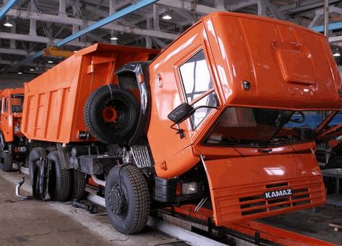 Заказать Капитальный ремонт грузовых автомобилей