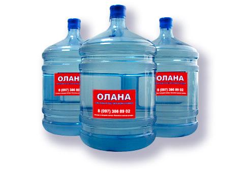 Заказать Доставка питьевой воды Олана 18,9 л.
