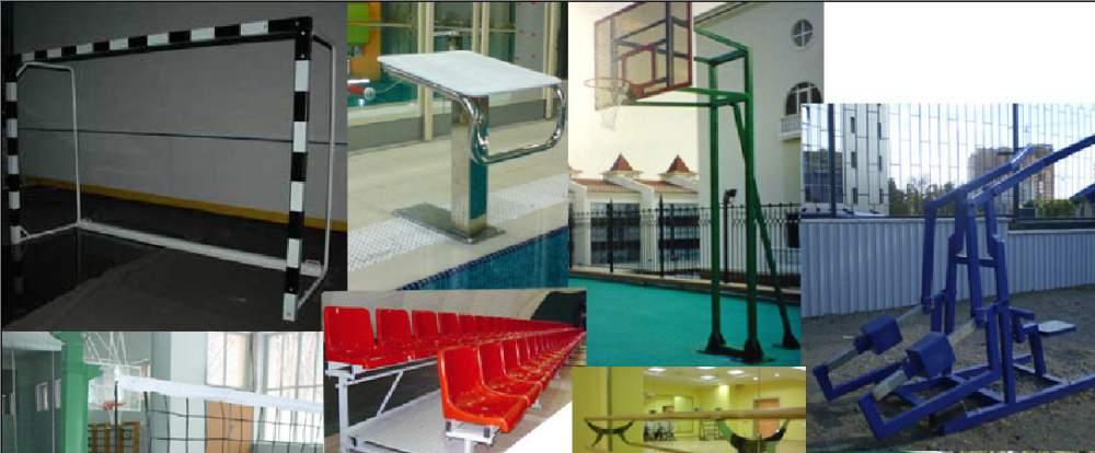 Поставка и производство спортивного оборудования