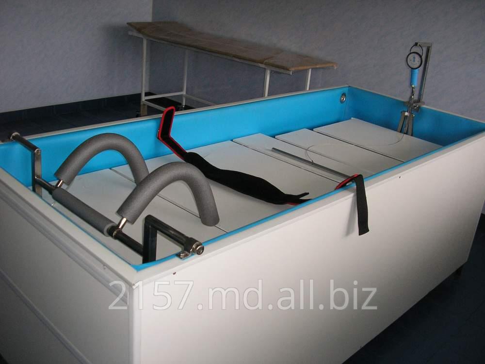 Разработка и изготовление универсальных аппаратов дозированного подводного вытяжения позвоночника