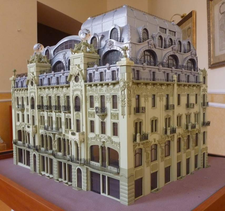 Order Production of architectural models