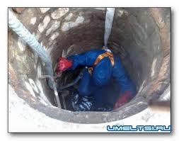 Заказать Очистка водоемов колодцев