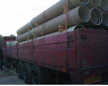 Order Cargo delivery automobile - pipes fiberglass