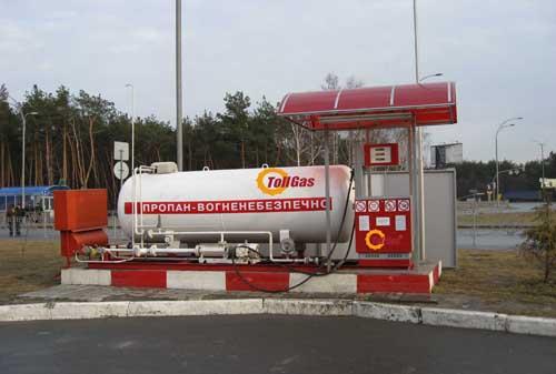 Заказать Продажа газовых заправок