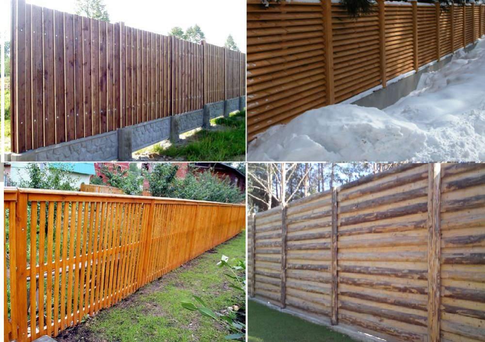 Заказать Установка заборов из дерева.Деревянный забор - один из самых недорогих и распространенных видов ограждения.