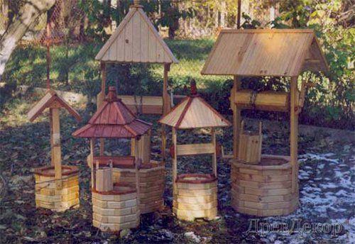 Заказать Установка и изготовление деревянных беседок , арок, детских площадок и декоративных колодцев и других изделий