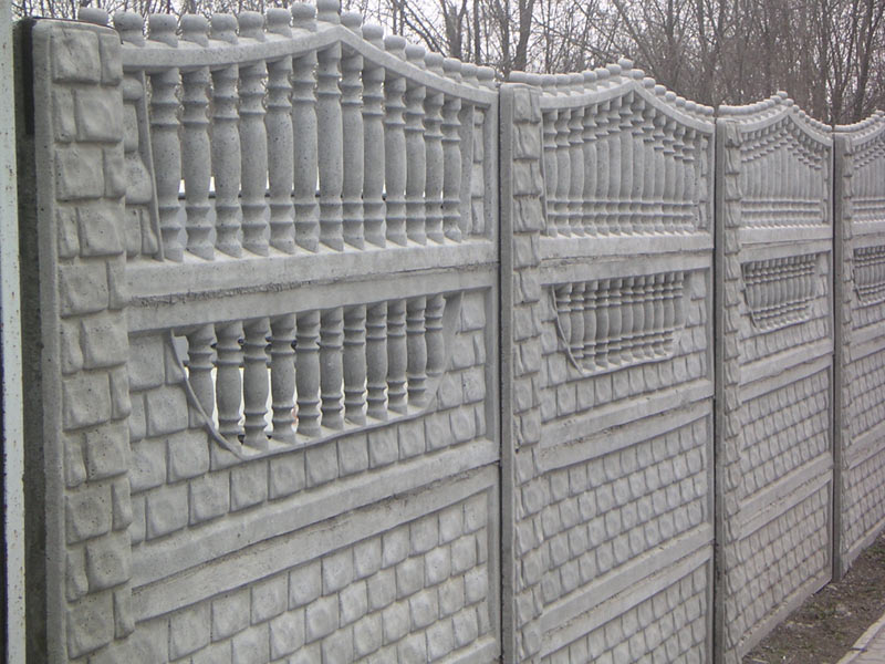 Заказать Строительство и установка заборов из бетона
