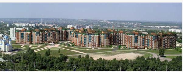 """Проектирование жилищного строительства  Жилой массив """"Оксфорд"""" в городе Луганске (возле ВНУ им. В. Даля)"""