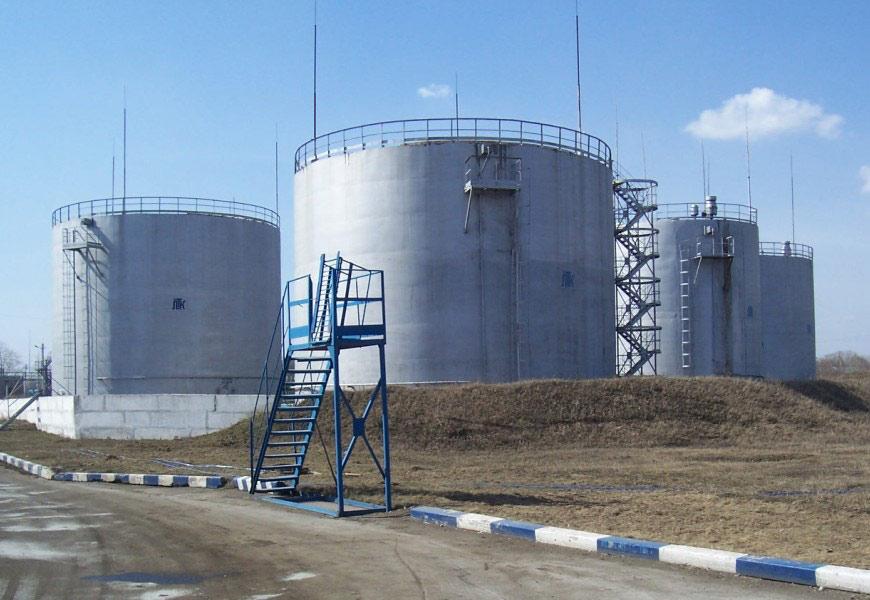 Заказать Услуги по хранению нефтепродуктов
