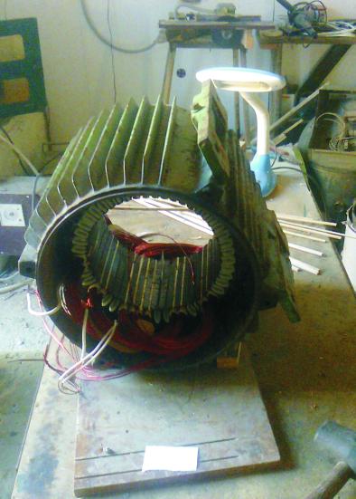 Заказать Перемотка электродвигателей от 0,16 до 250 кВт, ремонт якорей, сервисное обслуживание