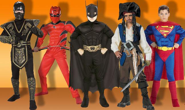 Новогодний костюмы супергероев своими руками