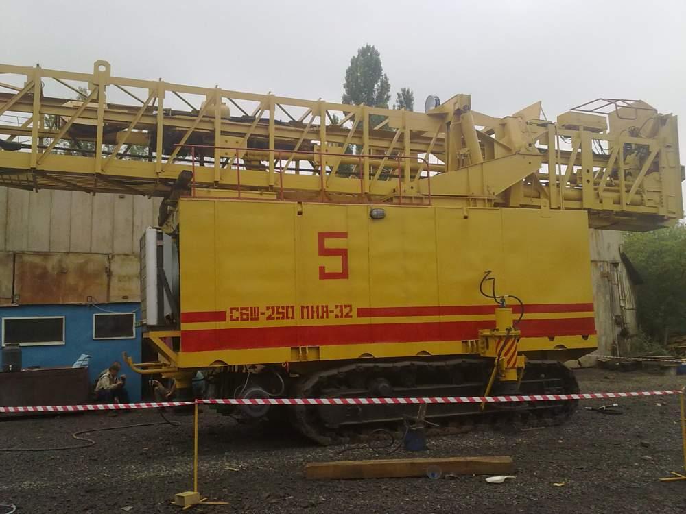 Капитальный и текущий ремонт буровых станков СБШ-250МНА