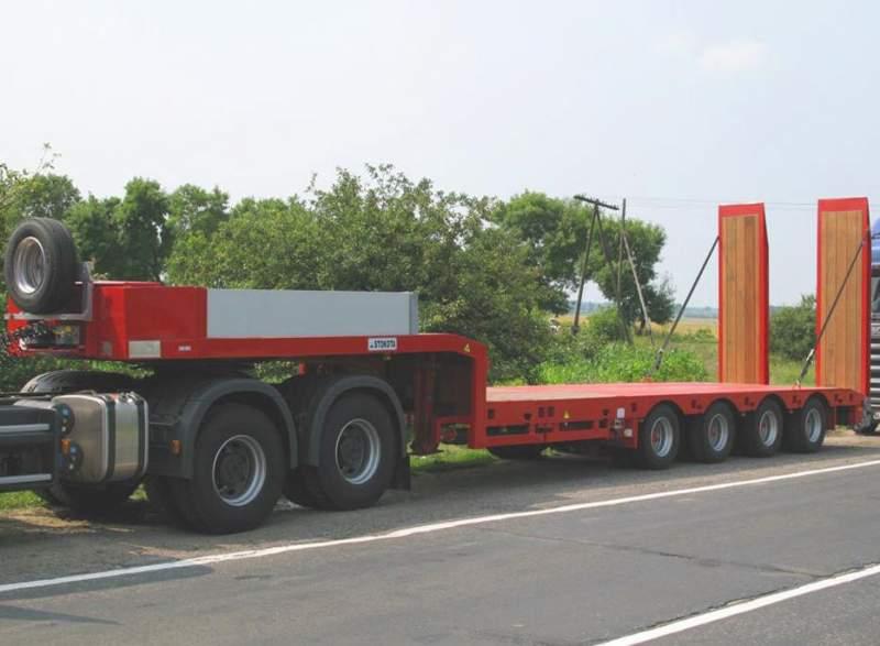 Заказать Перевозка негабаритных грузов от 25 до 100 тонн