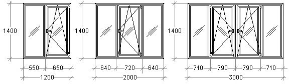 Заказать Монтаж металлопластиковых окон, индивидуальное изготовление