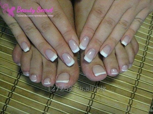 Order Nail extension standing, Pedicure. Departure on the house