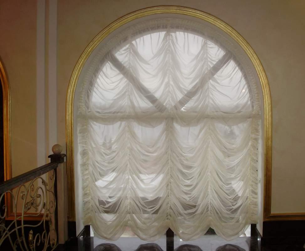 Французские шторы из полуорганзы