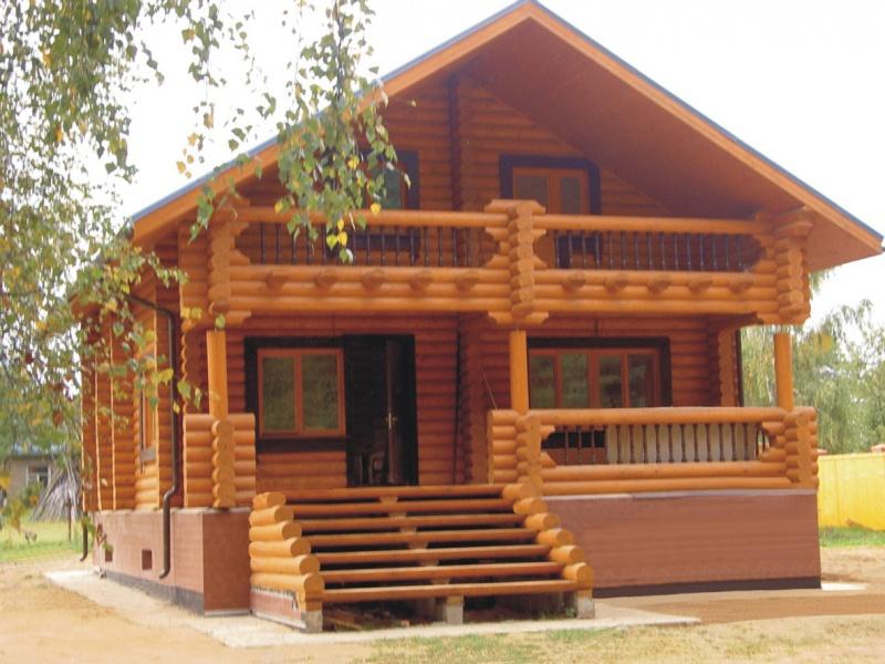 Заказать Строительство деревянных домов по индивидуальным проектам