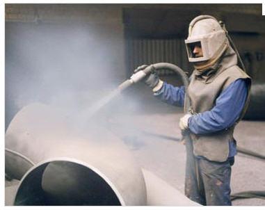 Заказать Пескоструйная обработка металлических изделий