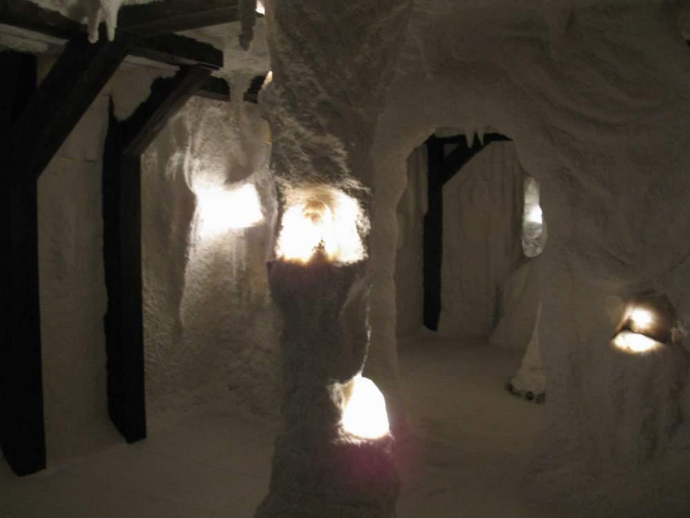 Стандартные соляные комнаты