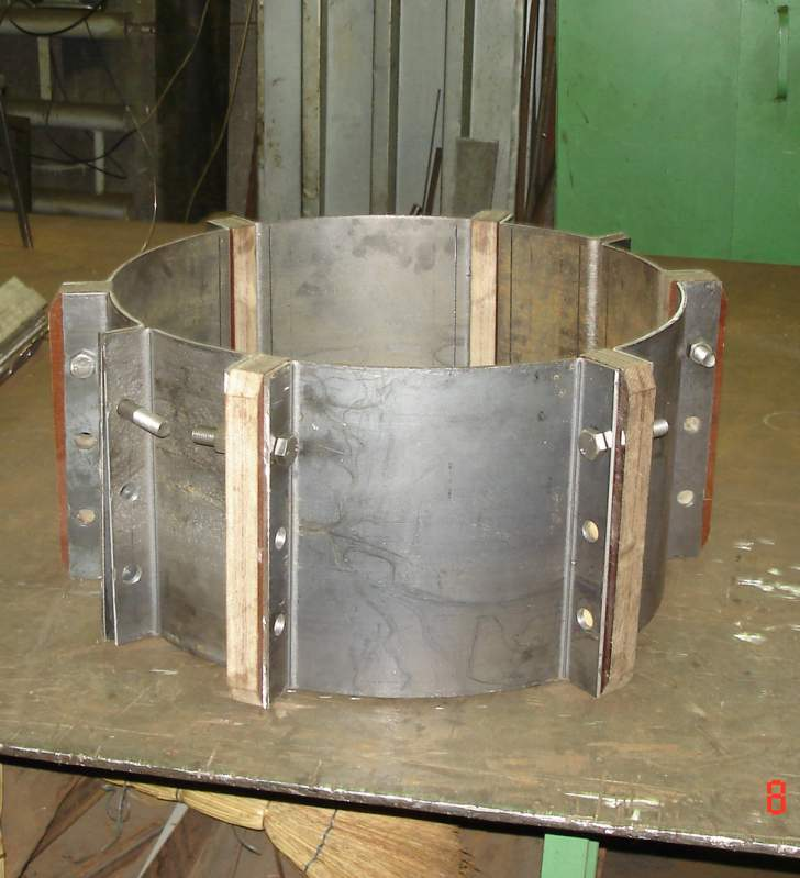 Order Production of the non-standard equipment from metals