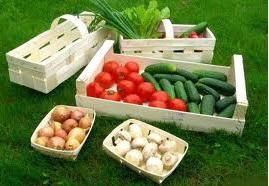 Заказать Изготовление тары - деревянного ящика из шпона для овощей, фруктов