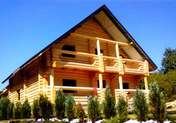 """Строительство домов из дерева, """"Хата-сруб"""" ООО"""
