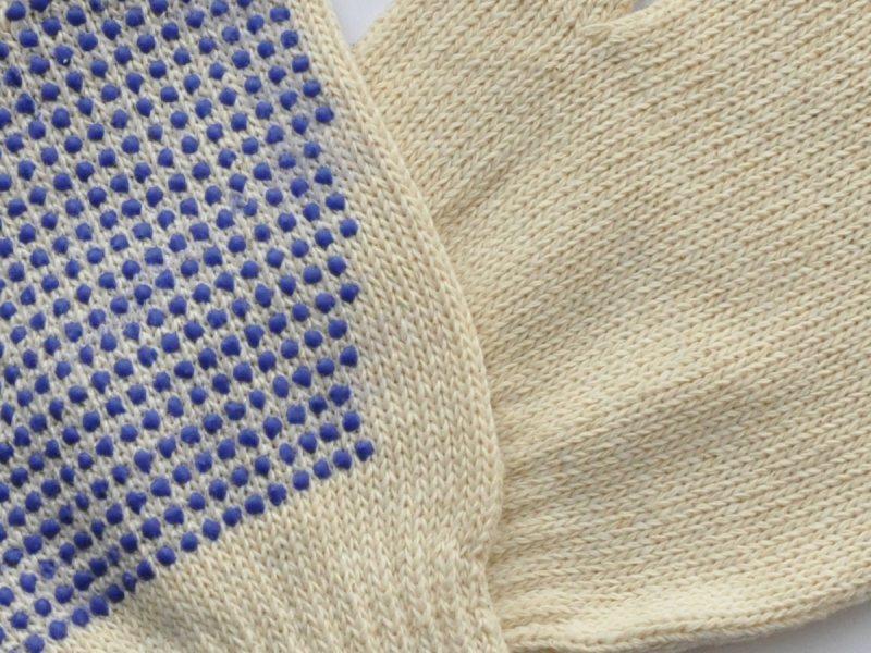 Заказать Производство рабочей перчатки х\б с ПВХ точкой