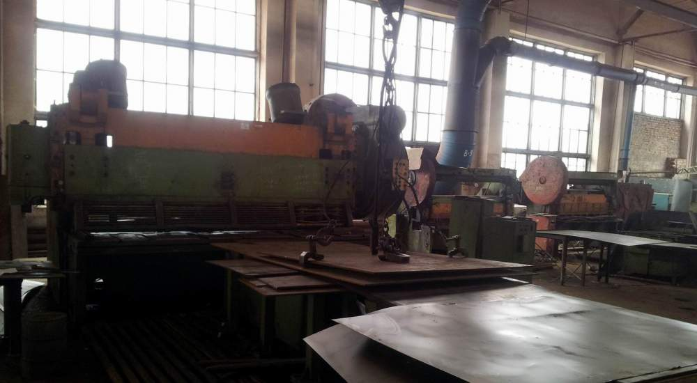 Services of felling of sheet rolling