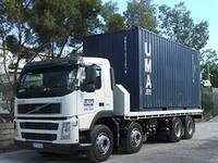 INTERNATIONALEN LKW-BEFÖRDERUNGEN Behältern